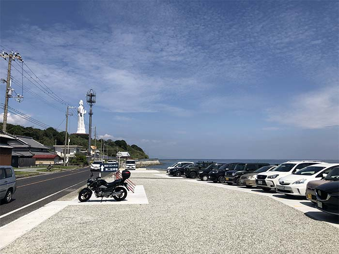 淡路島海鮮りうの駐車場
