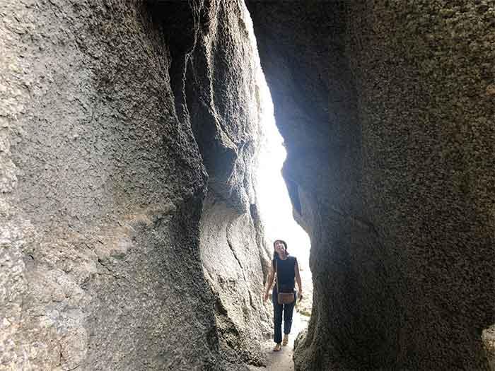 明神岬の子宮の道